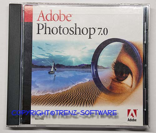 adobe photoshop 7 0 deutsch windows cd version kein download rechnung ebay. Black Bedroom Furniture Sets. Home Design Ideas